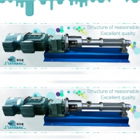 Dosing screw pump